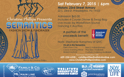 Semantics Fashion Show & Fundraiser 2/7/15