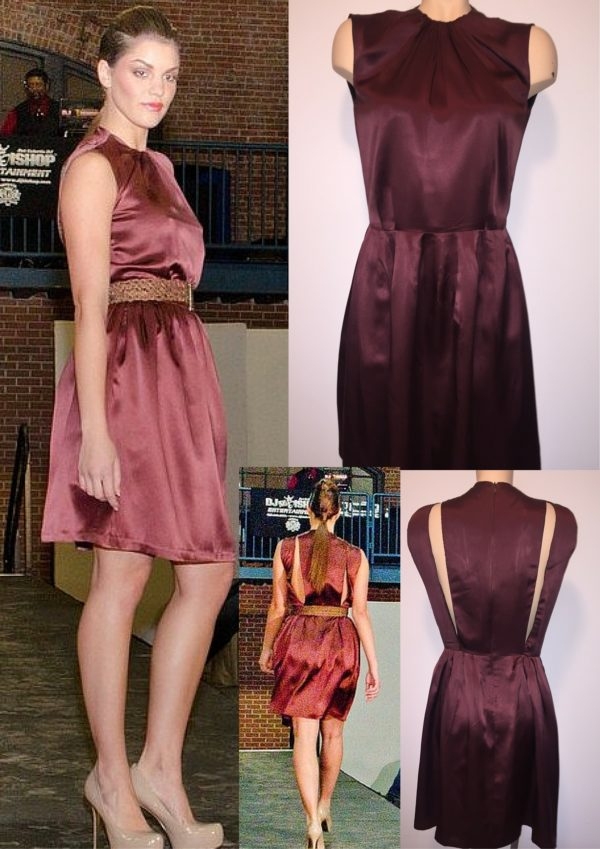 Baby Doll Dress with Belt