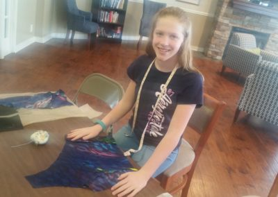 charlotte ironing